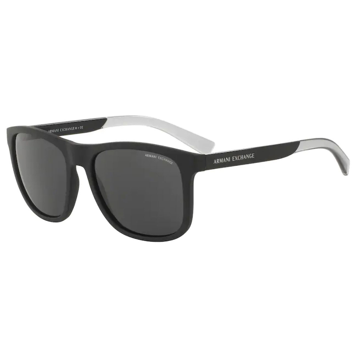 Óculos de Sol Masculino Armani Exchange AX4049SL Preto Fosco