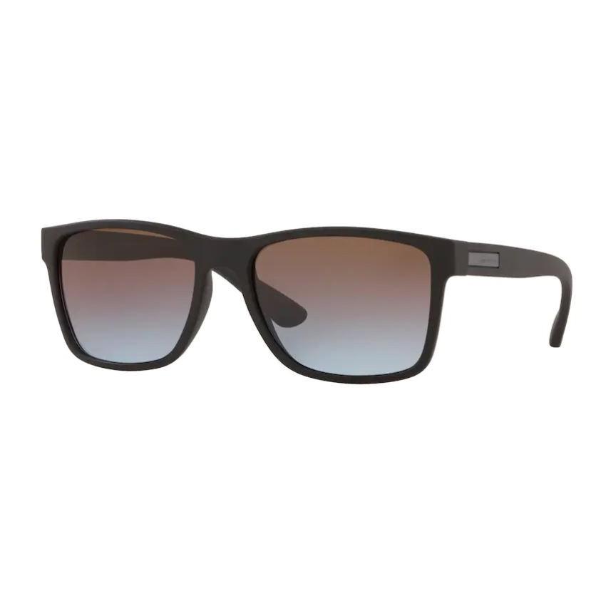 Óculos de Sol Masculino Jean Monnier J84125 Preto Fosco e Azul