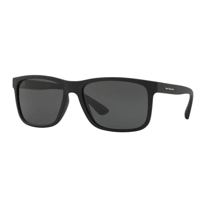 Óculos de Sol Masculino Jean Monnier J84129 Grande Preto Fosco