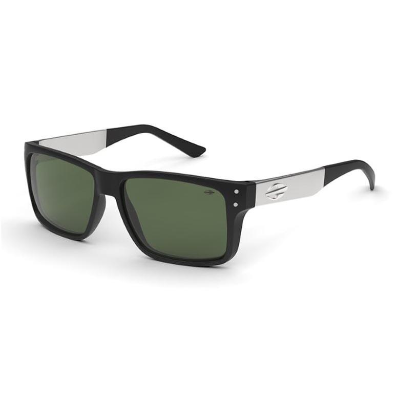 Óculos de Sol Masculino Moramii Mumbai II Preto Fosco com Prata