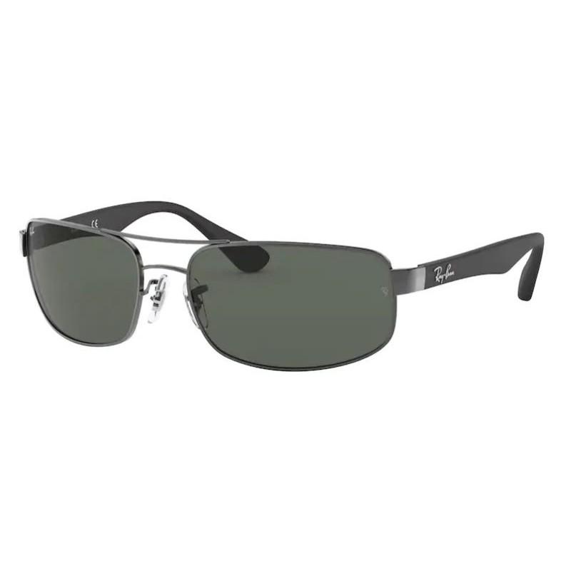 Óculos de Sol Masculino Ray Ban RB3445 Metal Prata Grande
