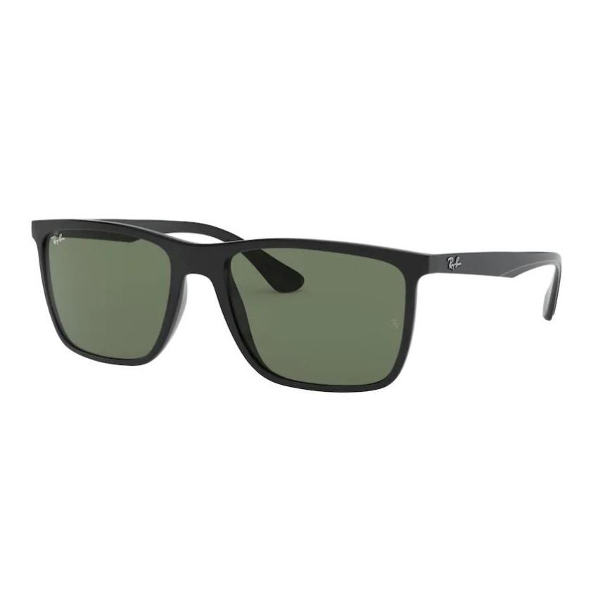 Óculos de Sol Masculino RayBan RB4288L Quadrado Preto Brilho