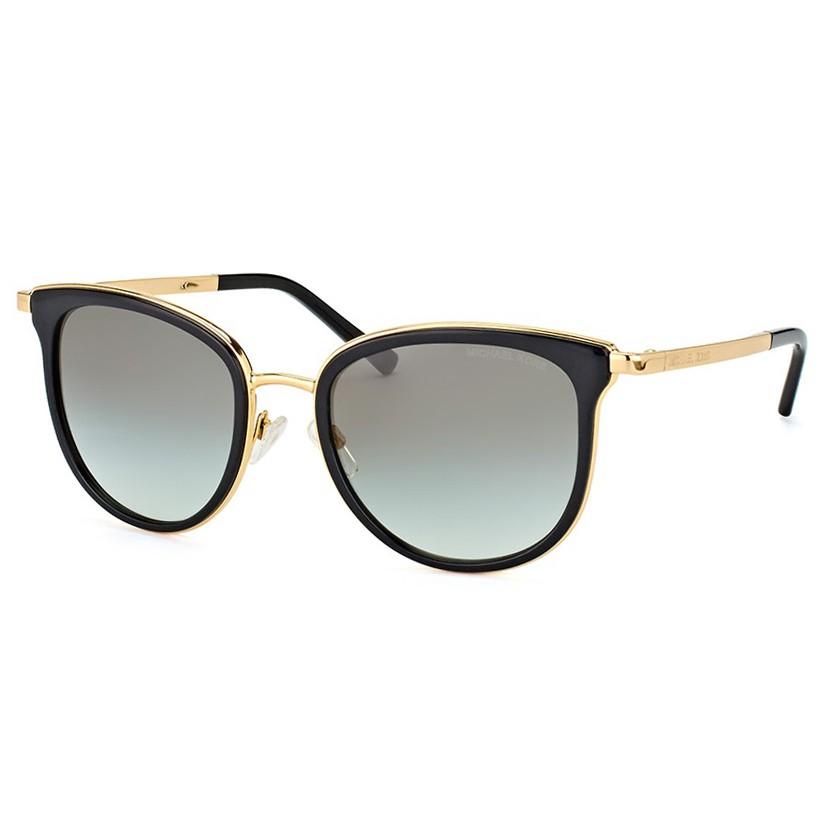 Óculos de Sol Michael Kors Adrianna I MK1010 Preto e Dourado
