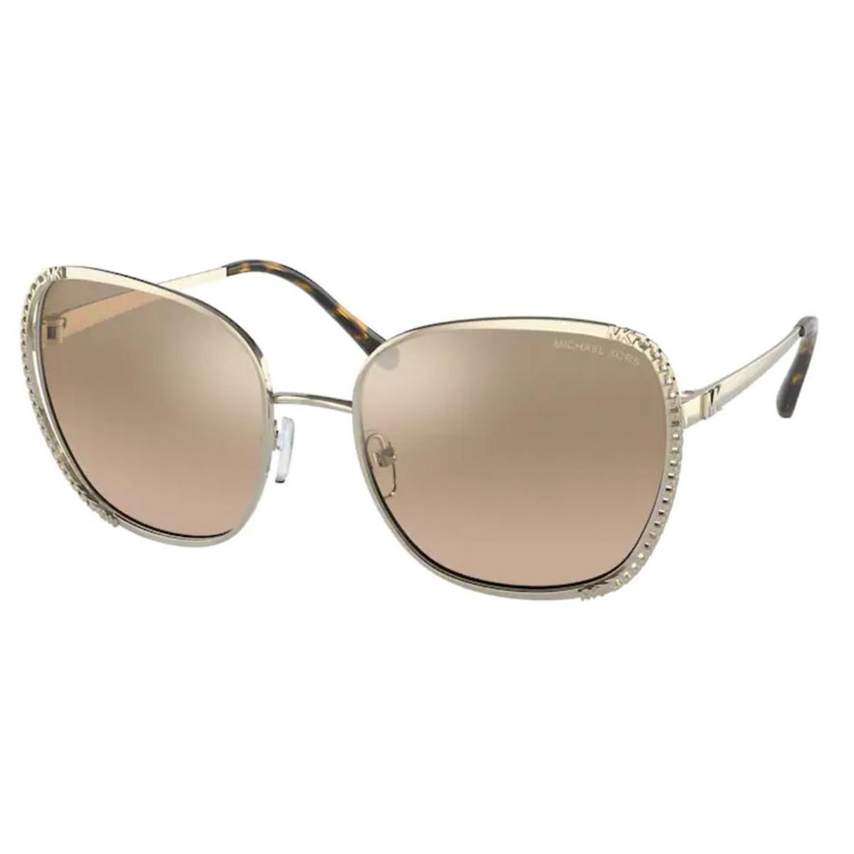 Óculos de Sol Michael Kors Amsterdam MK1090 Dourado Espelhado