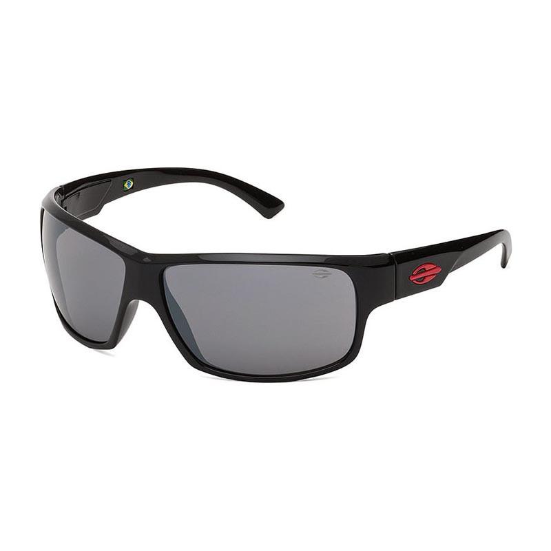 Óculos de Sol Mormaii Joaca II Preto Brilho com Vermelho