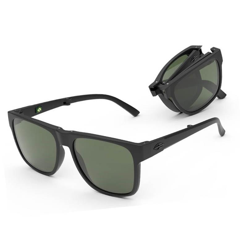 Óculos de Sol Mormaii Origami Dobrável M0111 Preto Fosco G15