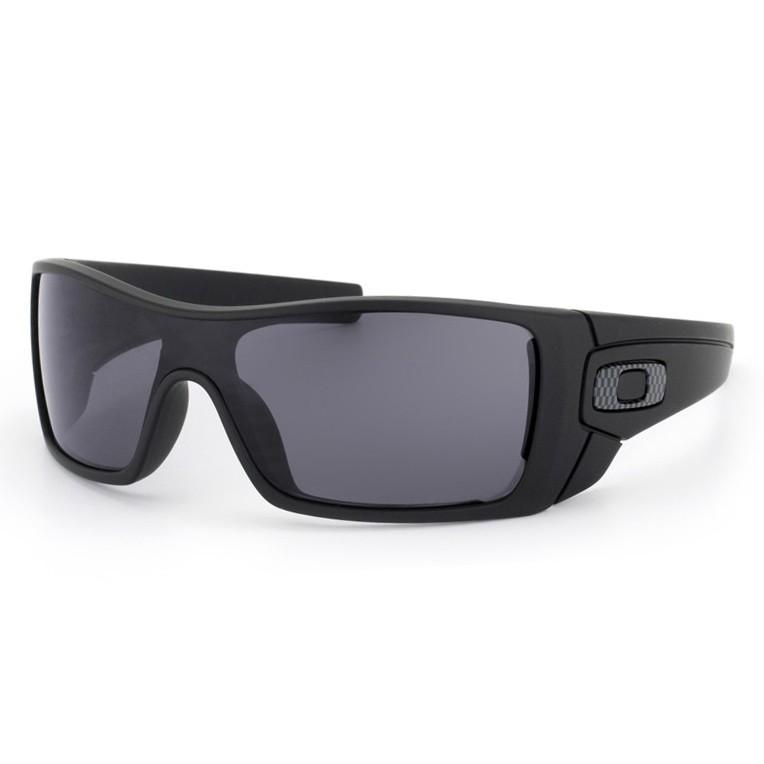 Óculos de Sol Oakley Batwolf OO9101 Curvado Preto Polarizado