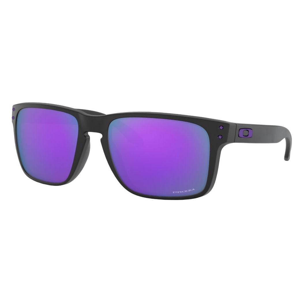 Óculos de Sol Oakley Holbrook XL OO9417 Preto Fosco Prizm Violet