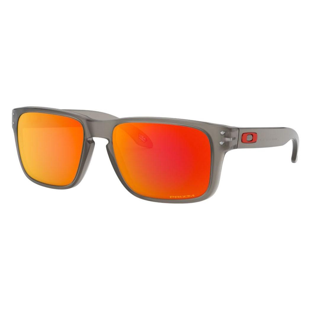 Óculos de Sol Oakley Holbrook XS Cinza Fosco Prizm Ruby