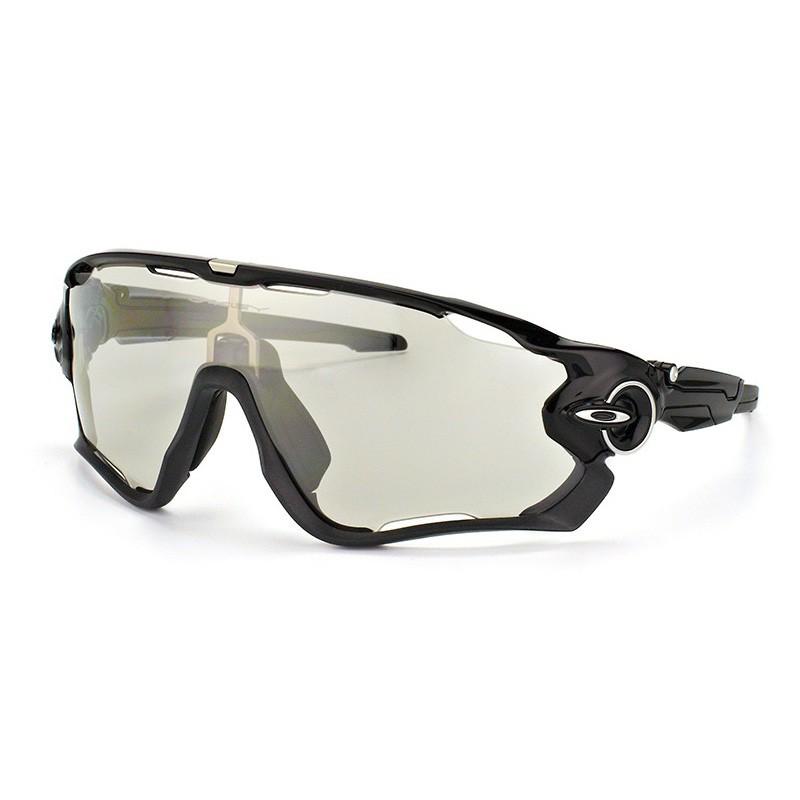 Óculos de Sol Oakley Jawbreaker OO9290 Preto Brilho Fotocromático