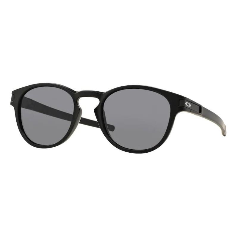 Óculos de Sol Oakley Latch OO9265L Redondo Preto Fosco