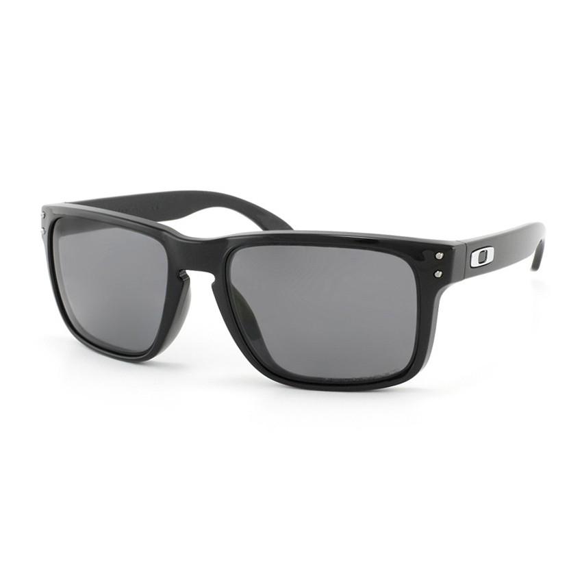 Óculos de Sol Oakley Polarizado Holbrook OO9102L Preto Brilho