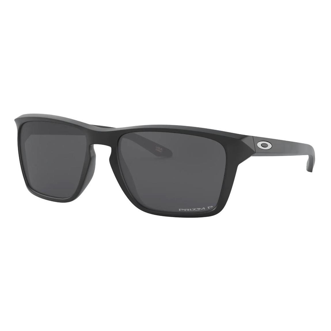 Óculos de Sol Oakley Sylar OO9448 Preto Fosco Polarizado Prizm