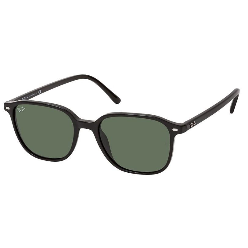 Óculos de Sol Pequeno RayBan Leonard RB2193 Preto Brilho