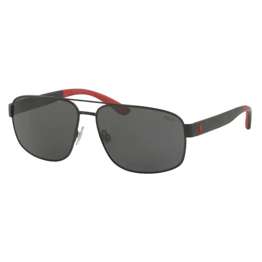 Óculos de Sol Polo Ralph Lauren PH3112 Preto Fosco Grande