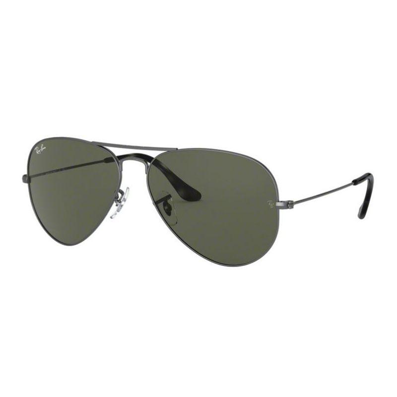 Óculos de Sol Ray Ban Aviador RB3025 Metal Cinza Fosco Grande