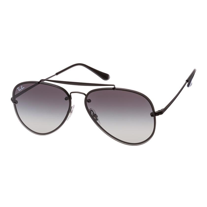 Óculos de Sol Ray Ban Blaze Aviador RB3584N Metal Preto Fosco