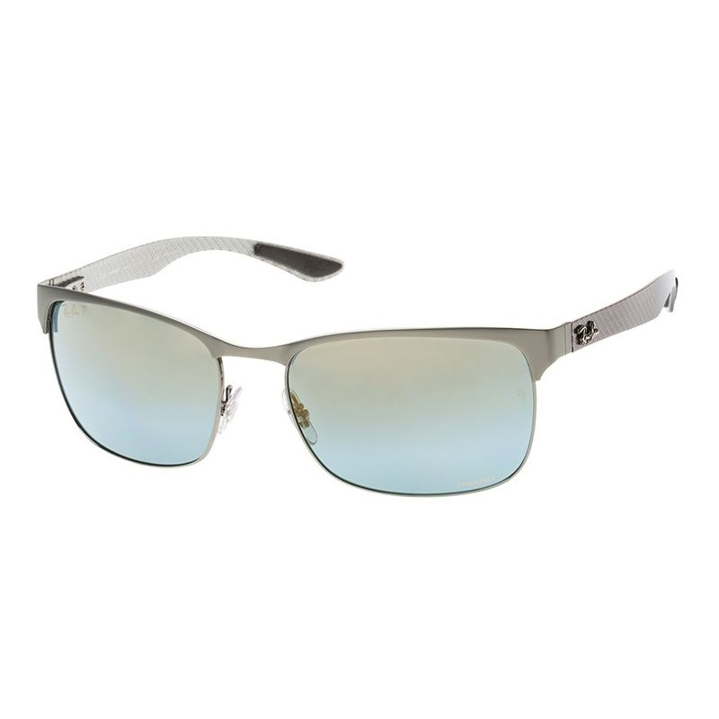 Óculos de Sol Ray Ban Chromance RB8319CH Cinza Polarizado