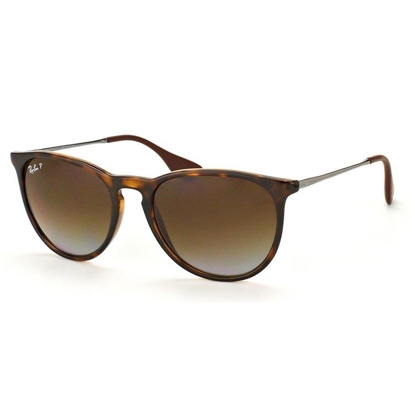 Óculos de Sol Ray Ban Erika RB4171L Marrom Demi Brilho Polarizado