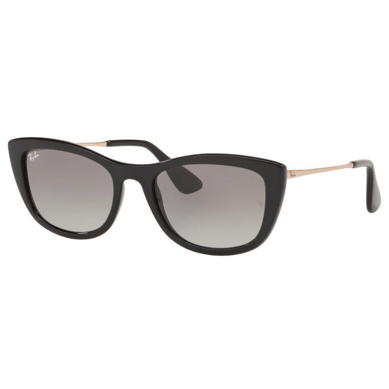 Óculos de Sol Ray Ban Feminino RB4327L Preto Brilho Gatinho