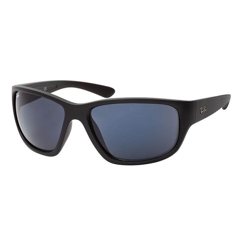 Óculos de Sol Ray Ban Grande RB4300 Preto Fosco Curvado