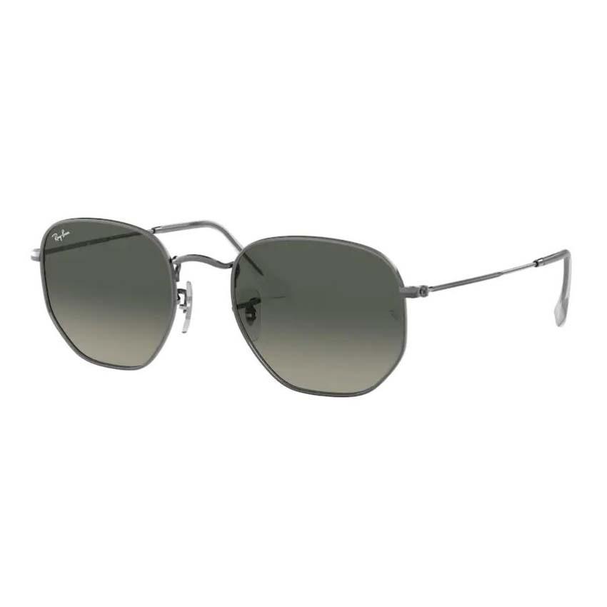 Óculos de Sol Ray Ban Hexagonal RB3548NL Cinza Brilho