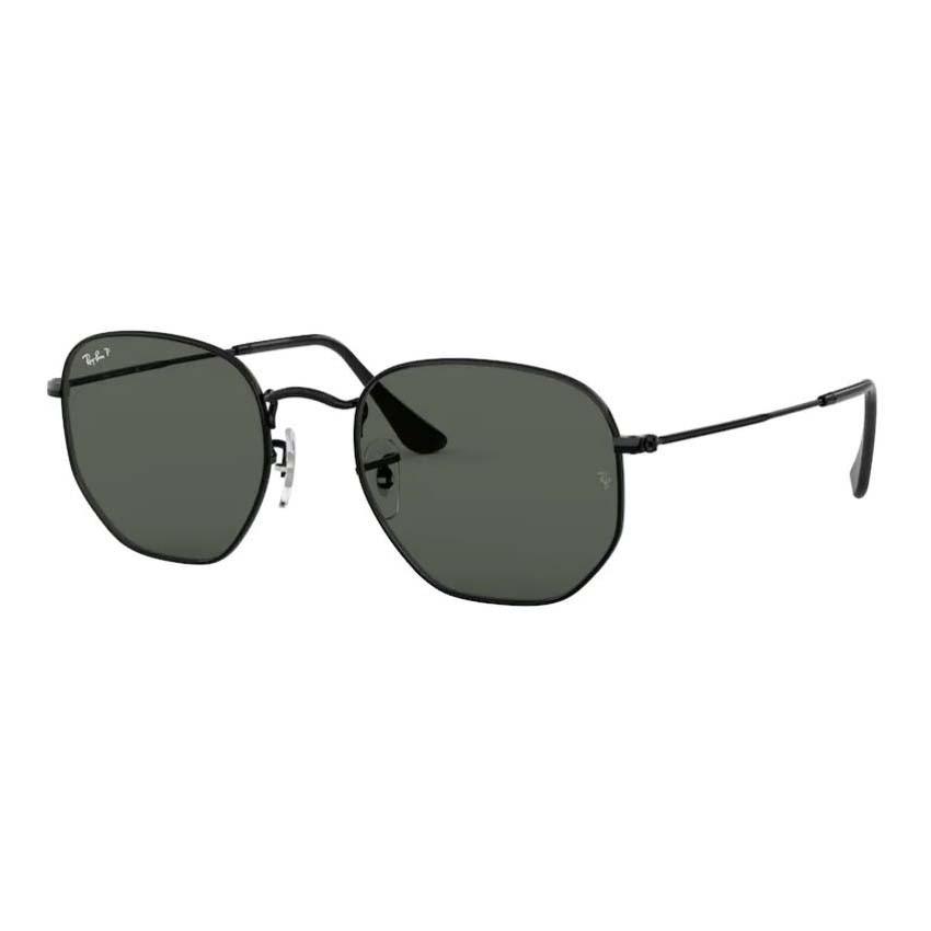 Óculos de Sol Ray Ban Hexagonal RB3548NL Pequeno Preto Polarizado