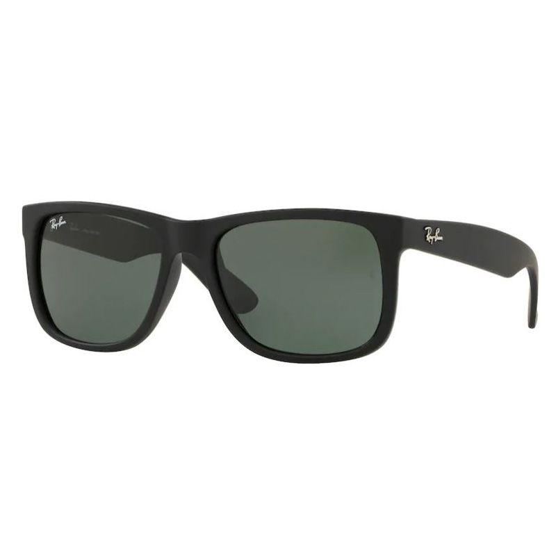 Óculos de Sol Ray Ban Justin RB4165L Masculino Preto Fosco