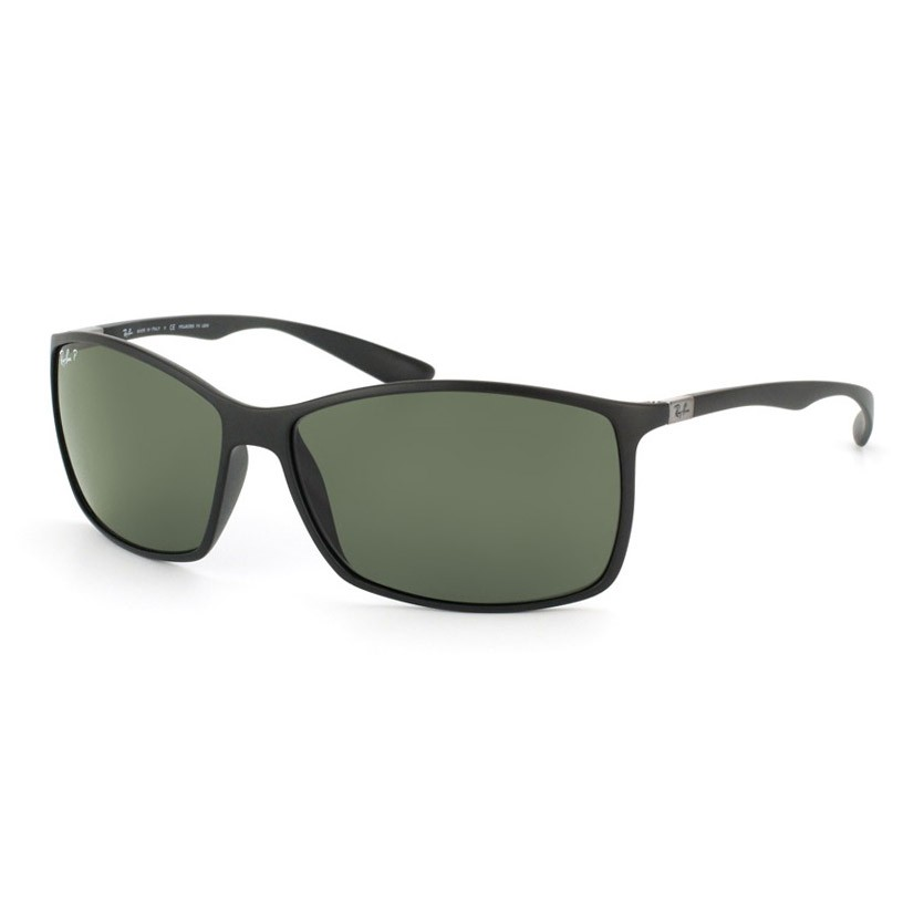 Óculos de Sol Ray Ban Liteforce Polarizado RB4179 Preto Fosco Masculino
