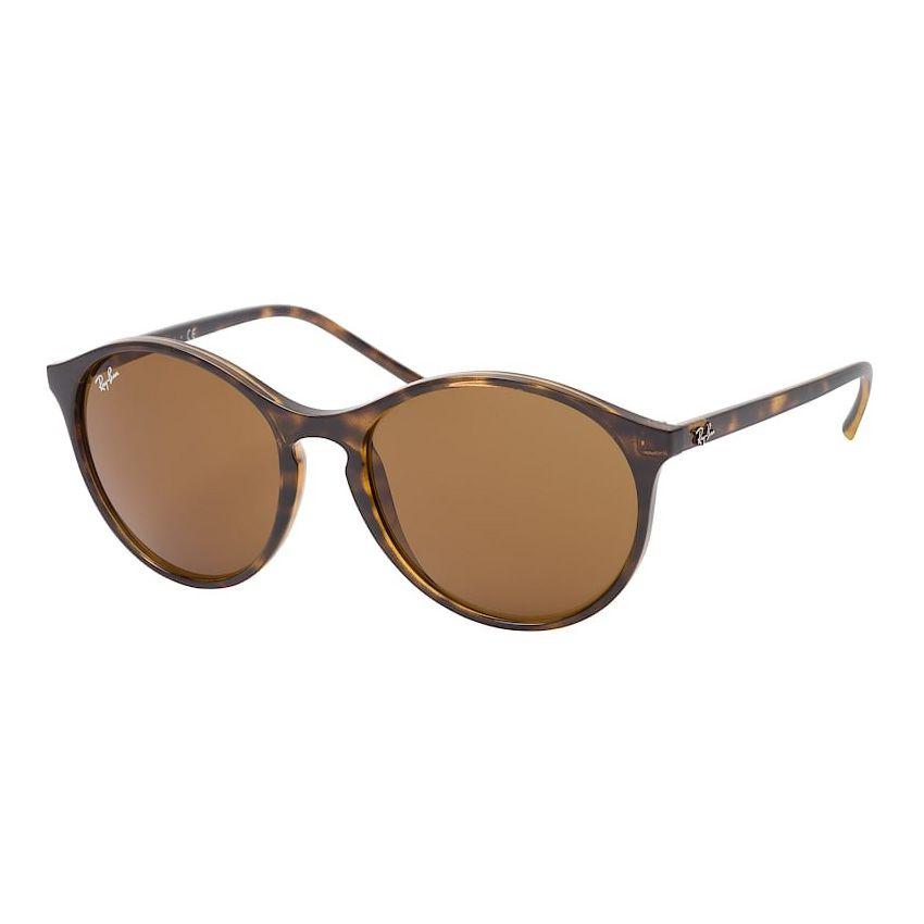 Óculos de Sol Ray Ban Marrom Tartaruga RB4371 Feminino Redondo