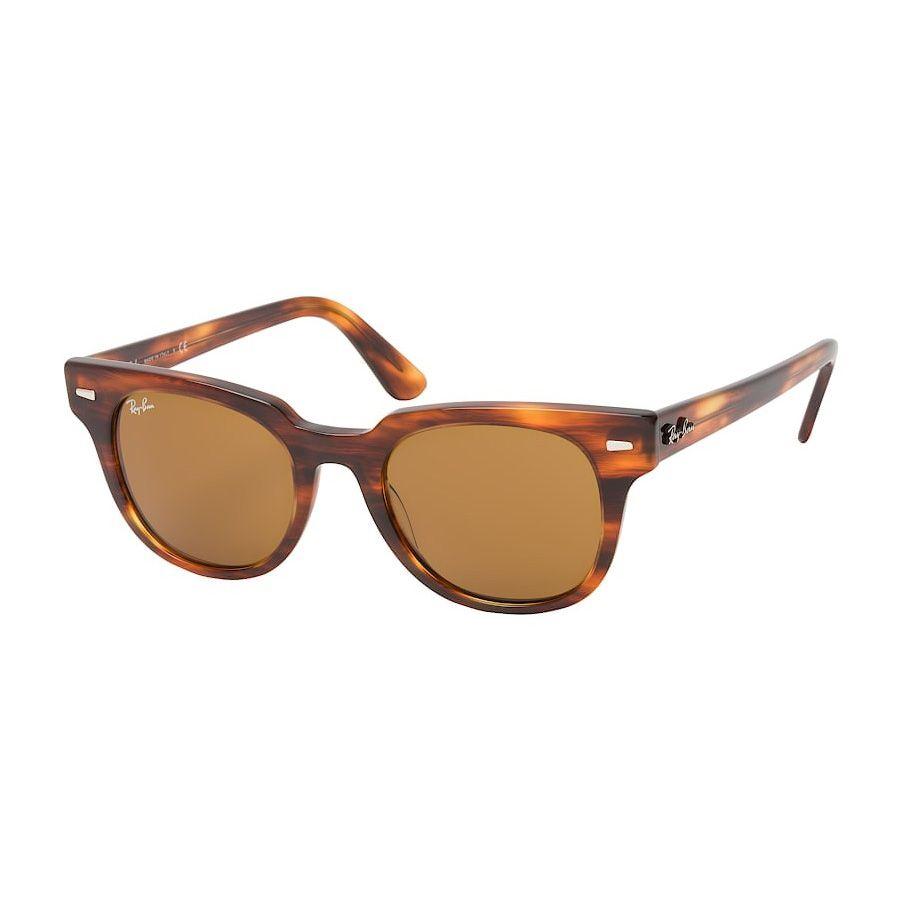 Óculos de Sol Ray Ban Meteor RB2168 Marrom Tartaruga Brilho