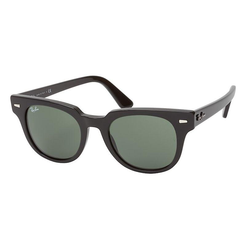 Óculos de Sol Ray Ban Meteor RB2168 Preto Brilho Lentes Crystal