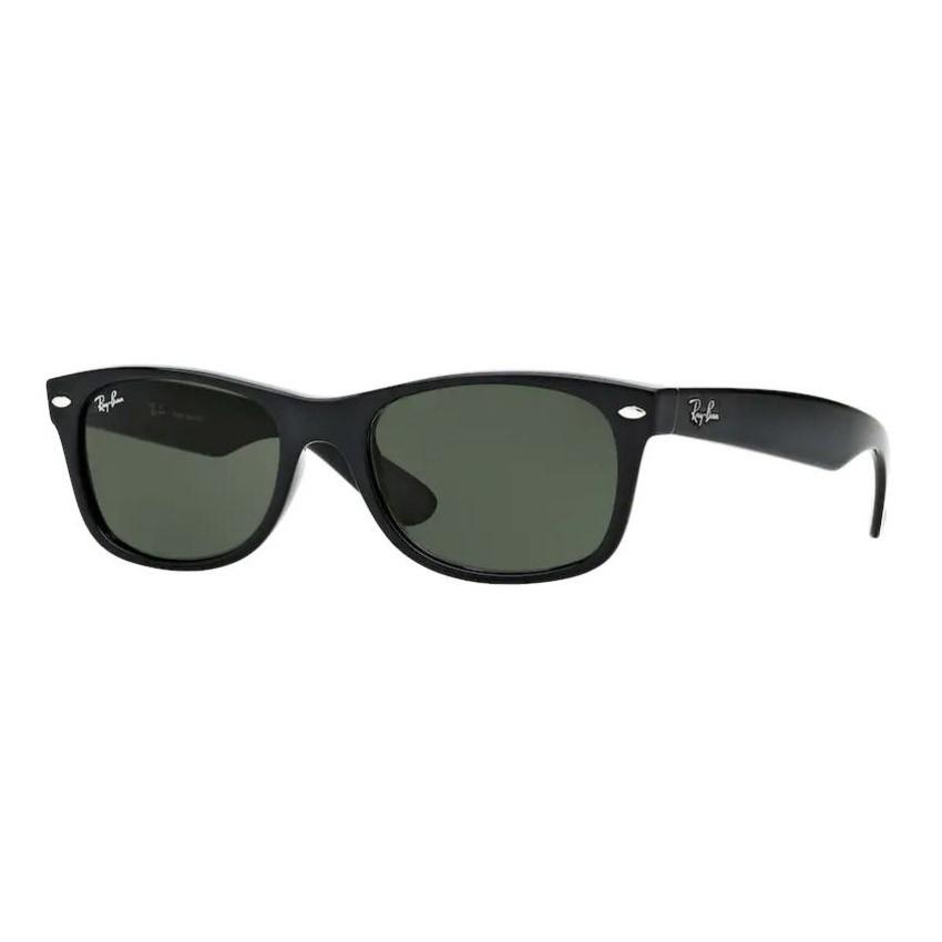 Óculos de Sol Ray Ban New Wayfarer RB2132 Preto Brilho Pequeno