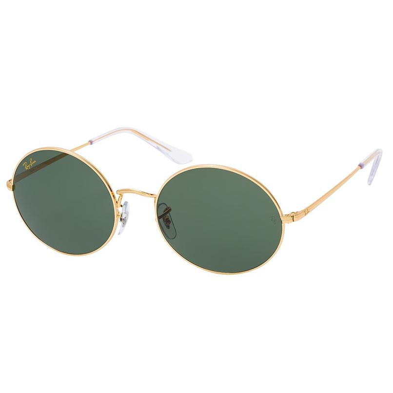 Óculos de Sol Ray Ban Oval RB1970 Metal Legend Gold