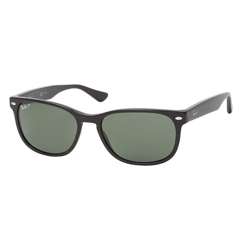 Óculos de Sol Ray Ban Polarizado RB2184 Acetato Preto Brilho