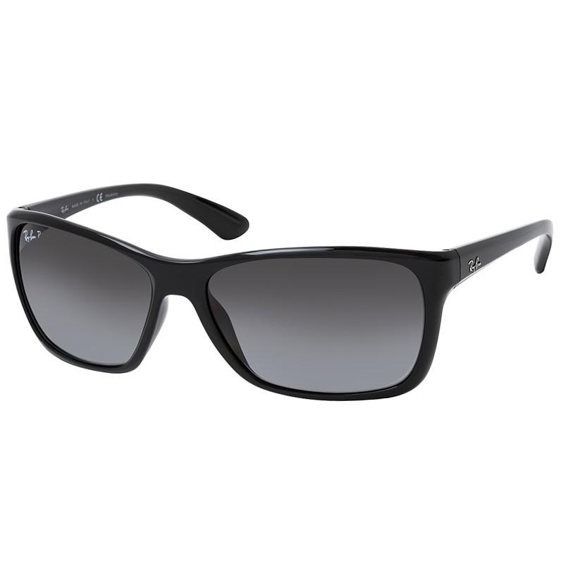 Óculos de Sol Ray Ban Polarizado RB4331L Preto Brilho