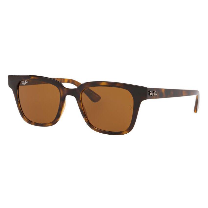 Óculos de Sol Ray Ban Quadrado RB4323L Marrom Havana Brilho