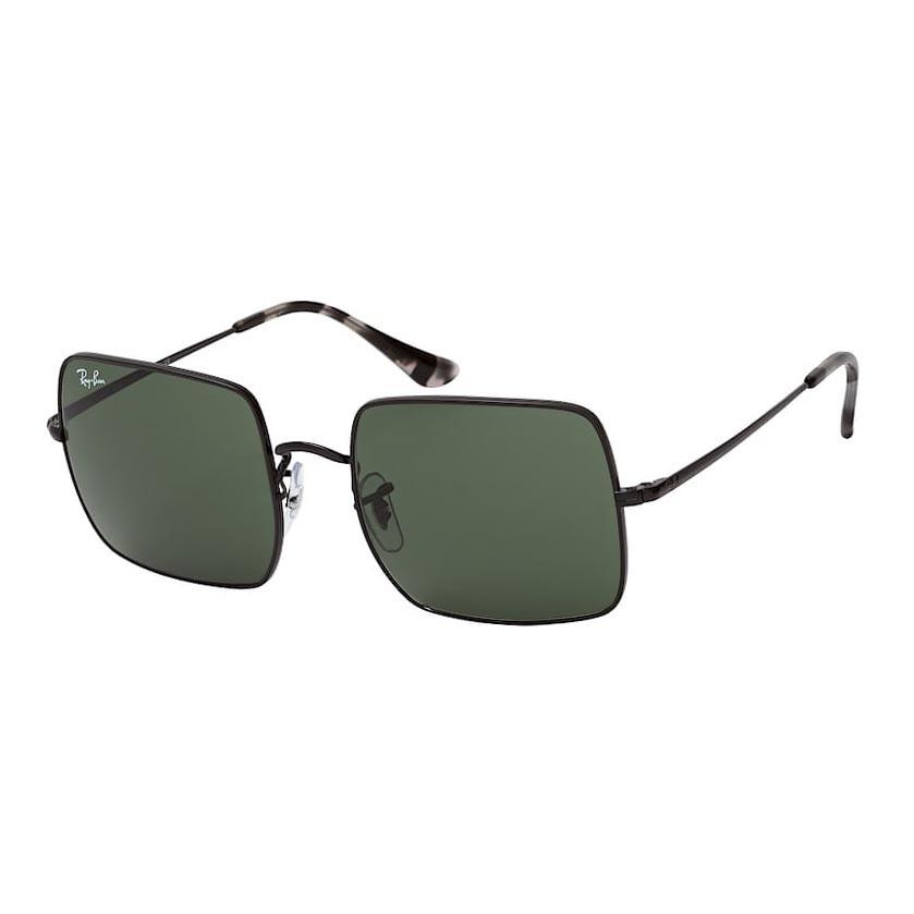 Óculos de Sol Ray Ban RB1971L Square Metal Preto Brilho