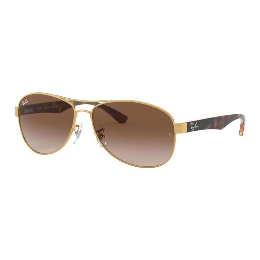 Óculos de Sol Ray Ban RB3525L Metal Dourado com Marrom Demi