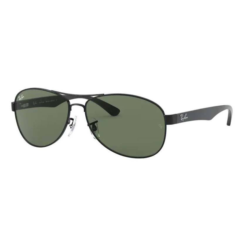 Óculos de Sol Ray Ban RB3525L Pilot Preto Brilho Metal