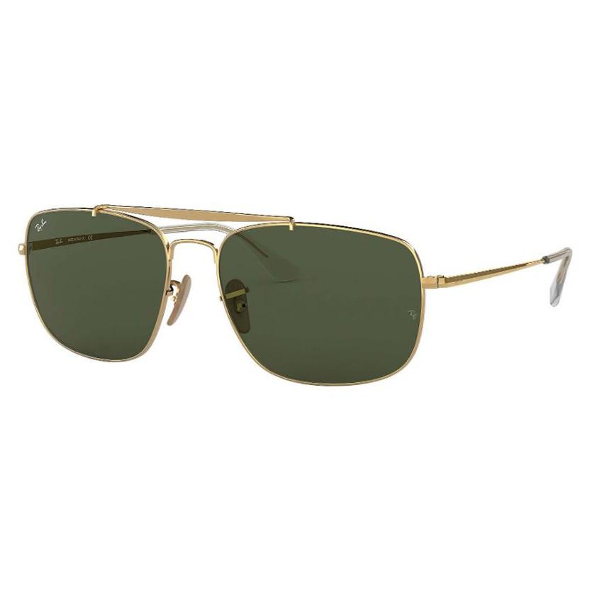 Óculos de Sol Ray Ban RB3560 The Colonel Dourado Grande