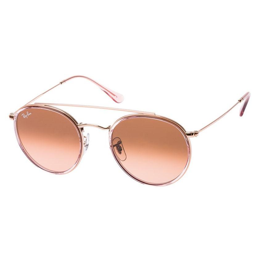 Óculos de Sol Ray Ban RB3647NL Metal Bronze com Rosa