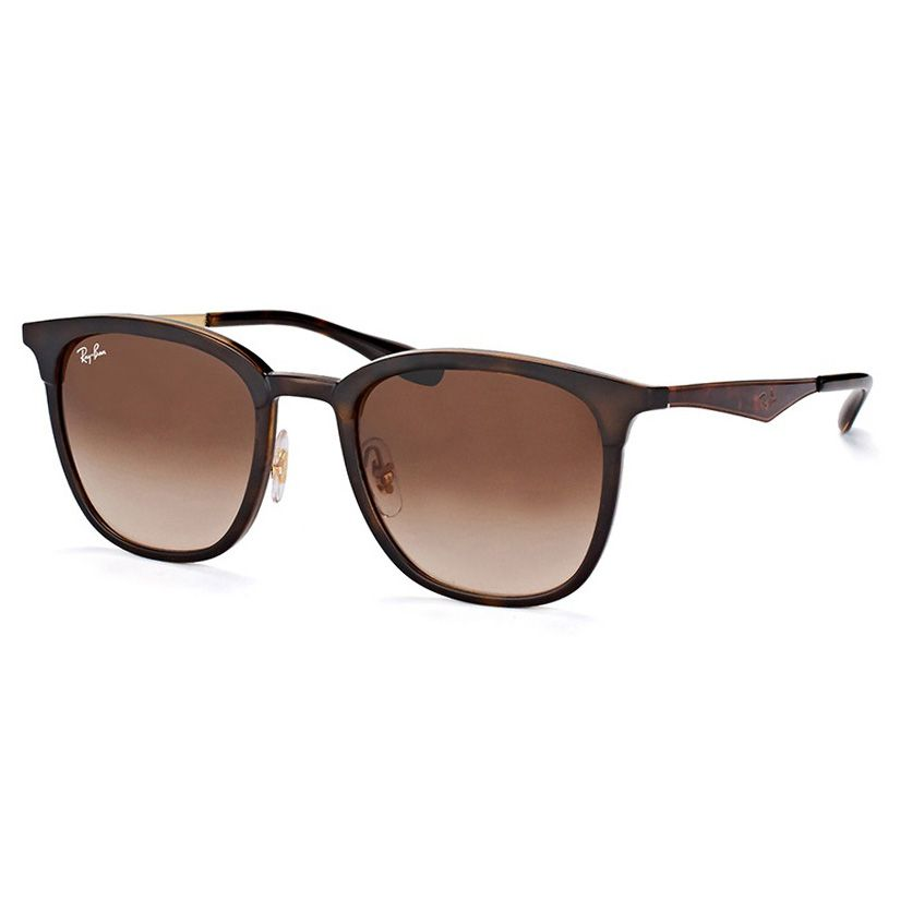 Óculos de Sol Ray Ban RB4278 Quadrado Marrom Tartaruga