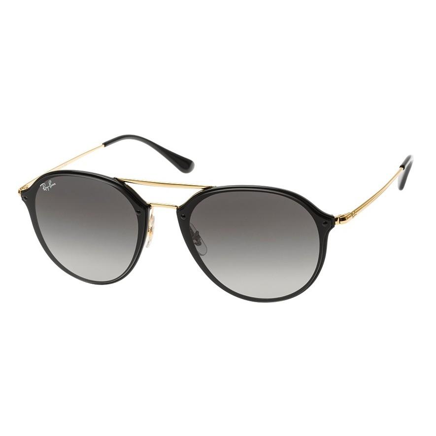 Óculos de Sol Ray Ban RB4292N Blaze Doublebridge Preto e Dourado