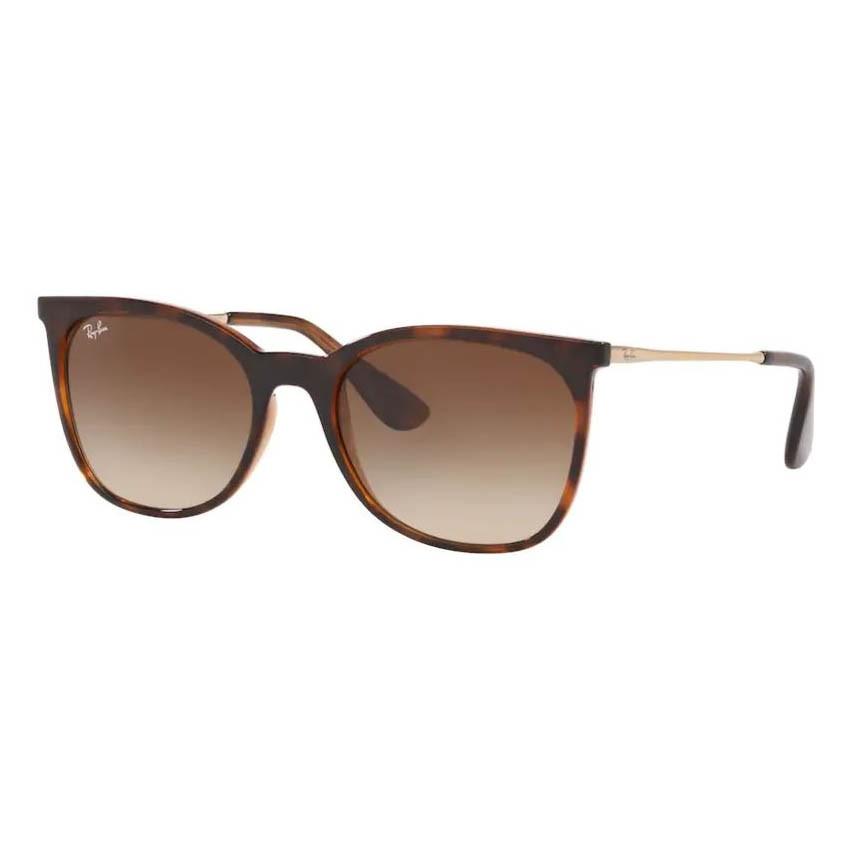 Óculos de Sol Ray Ban RB4326L Marrom Havana Brilho Feminino