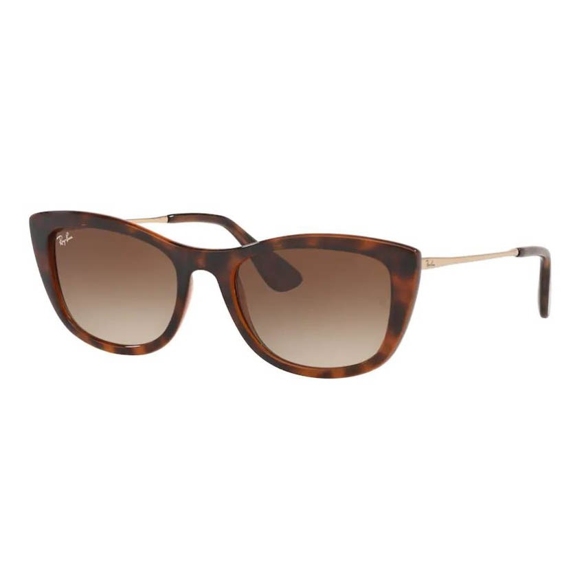 Óculos de Sol Ray Ban RB4327L Gatinho Marrom Havana Brilho
