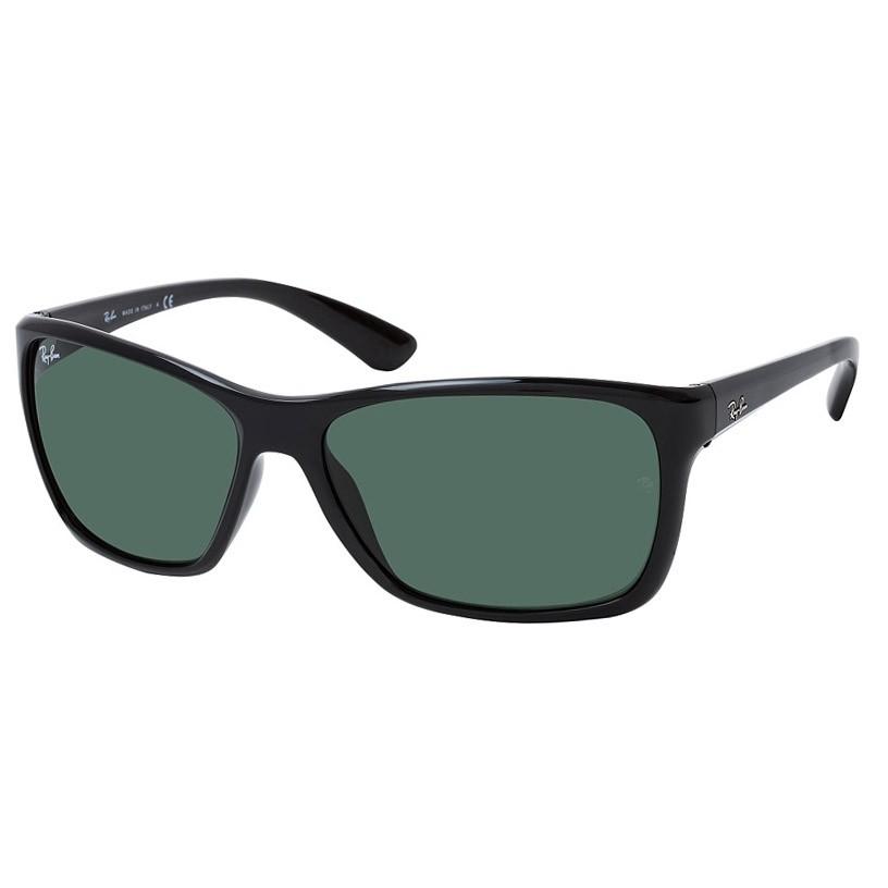 Óculos de Sol Ray Ban RB4331L Preto Brilho Tamanho 61