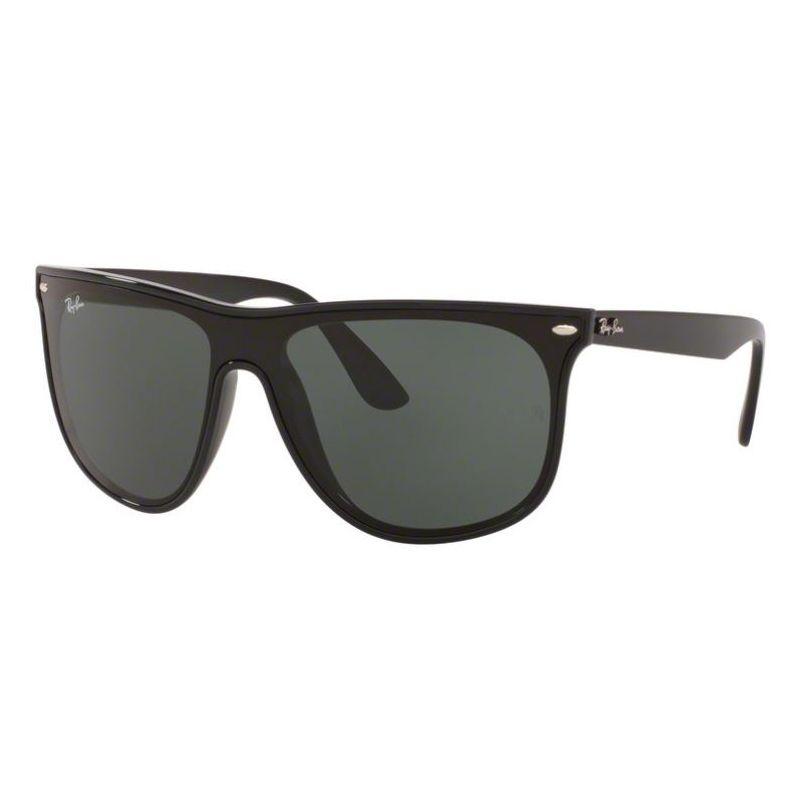 Óculos de Sol Ray Ban RB4447NL Blaze Boyfriend Preto Brilho