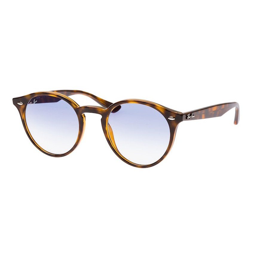 Óculos de Sol Ray Ban Redondo RB2180 Marrom Tartaruga Brilho