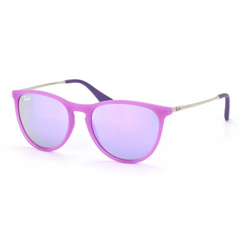 Óculos de Sol Ray Ban RJ9060S Infantil Erika Espelhado Roxo